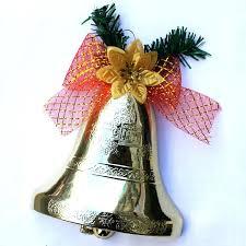 Large Plastic Christmas Bell Decorations Magnificent S Large Christmas Bells Decorations Jingle Bleepapp