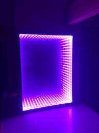 Led Coffee Table Diy Infinity Mirror Diy Its Easy Made From A Box Picture Frame Led