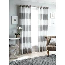 grey and white striped shower curtain west elm
