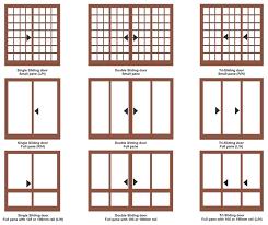 standard size of sliding glass door sliding door sliding door standard patio door size