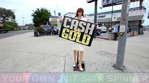 sign twirler theres a new kind of sign spinner in town npr