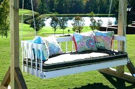 hanging daybed diy outdoor hanging bed swing daybed inside remodel diy hanging daybed plans