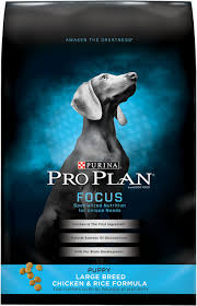 Purina Pro Plan Focus Puppy Large Breed Formula Dry Dog Food 18 Lb Bag