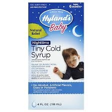 Hyland S 4kids Cold N Cough Nighttime Dosage Chart Hylands Nighttime Cold Syrup