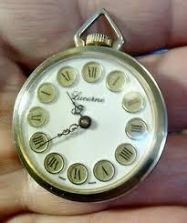 vintage lucerne las pendant watch