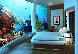 Beautiful Fish Tank Bedroom Wall To Remodeling Your Interior