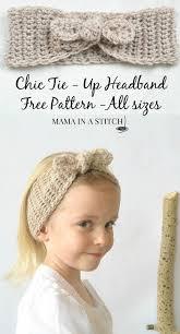 Easy Crochet Headband Pattern Free New Easy 48s Style Crochet Headband Pattern Crochet Ideas Pinterest