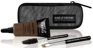make up forever aqua brow kit available in 7 shades this unique waterproofing kit for brows
