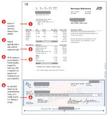 Paycheck Stub Layout Free Pay Stub Template Tips What To Include