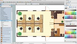 Free Office Layout Design Template Office Layout Software Create Great Looking Office Plan