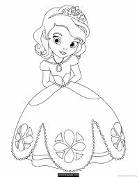 Disney Princess Coloring Pages For Girls At Getdrawingscom Free