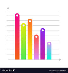 Linear Histogram Bar Chart Icon