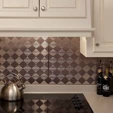 Kitchen Backsplash Panel Backsplash Miniquattro In Brushed Nickel