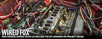 project rehab replacing a 5 0 efi harness with ron francis wiring 93 Mustang Wiring Diagram at 93 Mustang Wiring Harness