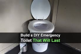 build a diy emergency toilet that will