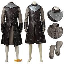 jon snow costume battle suit game of thrones cosplay costume jpg