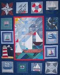 Nautical Quilt | Patchwork, Craft and Boy quilts & Nautical quilt. Adamdwight.com