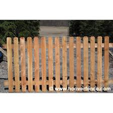 wood picket fence panels. Perfect Panels Spaced Dog Ear Wood Fence Panels  Cedar  Inside Picket