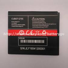 Original 1350mAh 3.7V Li-ion <b>Battery CUBOT GT95</b> For Smartphone ...