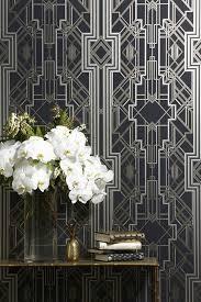 interior design trend art deco style decor decorating with wallpaper wall stencils on art deco wall stencils uk with interior design trend art deco wallpaper wall stencils paint