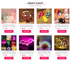 Led Night Light Creative Resin Cat Animal Night Light Ornaments Home