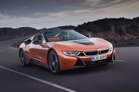 the new bmw i8 roadster unveiled at the 2017 los angeles auto show