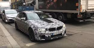 2018 bmw v8. simple bmw 2018 bmw m5 test mule spotted in oslo inside bmw v8