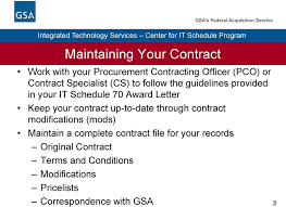 Gsa Fas Organization Chart Contract Administration Different Types Of Modifications Pdf