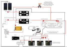 new 12v electrics total charging solution myselfbuildcamper co uk dual battery wiring diagram boat at Dual Battery Charging System Diagram