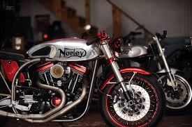 red silver norley caf racer santiago chopper a fifth