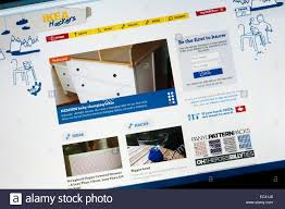Stock Photo - The home page of the IKEA Hackers website, for people who  adapt IKEA furniture
