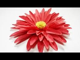 Dahlia Flower Making With Paper Dahlia Paper Flower Diy Making Tutorial Paper Flowers Easy
