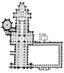 Bazas Cathedral  Bazas  Iconography And Architectural Styles Cathedral Floor Plans