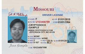 Holograms Markings License Uv Driver Missouri