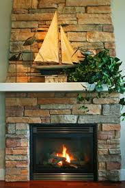 how to clean a stone fireplace