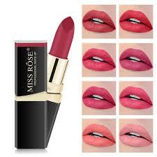 Glowry <b>12 Colors</b> Matte <b>Lipstick</b> Waterproof Long Lasting <b>Lip</b> Gloss ...