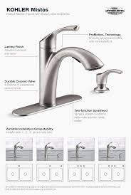 best kohler shower valve new concept kohler single handle kitchen faucet repair inspirational how