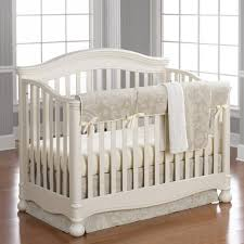 good looking neutral crib bedding 22 white gender 768x768