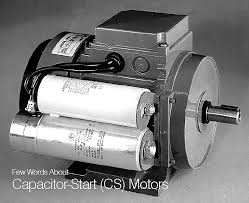 few words about capacitor start (cs) motors Capacitor Run Motors Diagrams start run capacitor single phase induction motor (source abb)