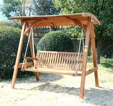 wooden swings for full image for 3 garden outdoor larch wood swing chair bench wood wooden swings