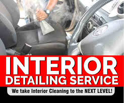 car interior cleaning services detail