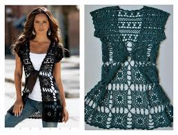 Free Crochet Vest Patterns Best Beautiful Long Vest Free Crochet Pattern