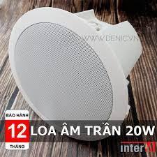 Loa Âm Trần 20W nghe nhạc, CS-620FH INTER-M