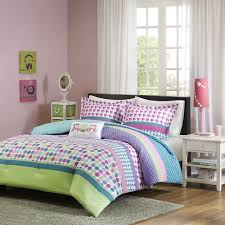 uncategorized pink polka dot comforter amazing set orations girls full size bedding teen beautiful owls green