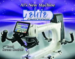A1 Quilting Machine - Sunflower Stitcheries and Quilting & 00743 A1QM Platinum Broch No Bleed.02 Adamdwight.com