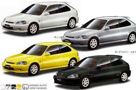 Honda Civic Color Code Chart Honda Ek9 Civic Type R Color Variations Ek9 Org Jdm Ek9