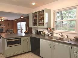 Old Kitchen Remodeling How To Paint Old Kitchen Cabinets How Tos Diy
