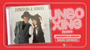 UNBOXING: CD Jairzinho & Simony - Em Espanhol (Bootleg/Fã Made) - YouTube