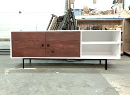 ana white  long modern media console or entertainment center