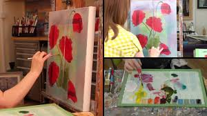 paint with maz poppy duo in oils step by step trailer